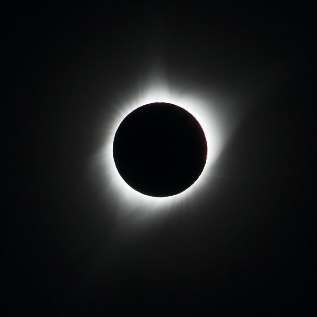 Eclipse, durante un viaje de grupo. Foto: Arawak Viajes